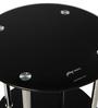 Glider Corner Table in Black Colour by Godrej Interio
