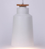 Glowbox White Metal Pendant