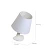 Glowbox White Resin Wall Lamp