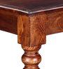 Glydon Bench in Honey Oak Finish by Amberville