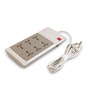GM G-Power Grey & White 6+1 Outlet Spike Guard