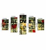 Go Hooked MDF 30 x 18 Inch Love Graffiti Multi-framed Wall Decor