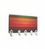 Go Hooked Multicolour MDF Colour Theme Key Holder
