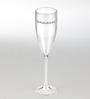 Godskitchen Champagne Flute Acrylic Champagne Flute Glass -Set of 6
