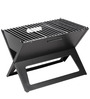 Notebook Handy/ Compact Barbeque Charcoal Portable Grill & pack of 12 skewers by GodsKitchen
