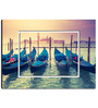 Hashtag Decor Grand Canal at Sunset Engineered Wood 27 x 20 Inch Framed Art Panel