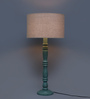 Grated Ginger Beige Cotton Table Lamp
