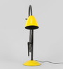 Grated Ginger Yellow Iron Table Lamp