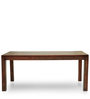 Gresham Six Seater Dining Table in Mahogany Finish by The ArmChair