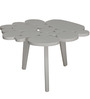 Grouped Circles Centre Table in White Colour by Phinza Furniture