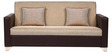 Harbour Sofa Set 3+1+1 in Brown with Jute Colour by ARRA