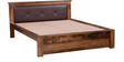 Oakville Queen Bed in Provincial Teak Finish by Woodsworth