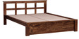 Raliegh Queen Bed in Provincial Teak Finish by Woodsworth