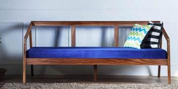 Harrington Three Seater Sofa In Provincial Teak Finish By Woodsworth