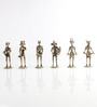 Aggleton The Devil Band Figurines Set of 6 in Brown by Amberville