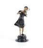 Agius Violin Girl Figurine in Multicolor by Amberville