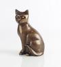 Bjork Wild Cat Showpiece in Brown by Bohemiana