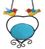 Wonderland Hanging Heart Shape Bird Feeder
