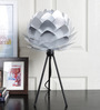 Ekko Cocoon Silver Table Lamp