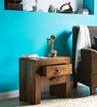 Ontario Bed Side Table in Provincial Teak Finish by Woodsworth
