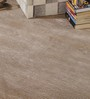 HDP Beige & Silver Wool & Viscose 72 x 48 Inch Hand Woven Loom Knotted Carpet