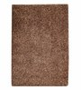 HDP Brown Polyester 47 x 67 Inch Carpet