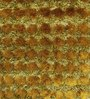 HDP Green Polyester 48 x 32 Inch Hand Made Tufted Shaggy Carpet