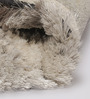 HDP Multicolour Polyester 48 x 32 Inch Hand Made Tufted Shaggy Carpet