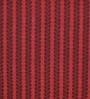 HDP Red & Brown Wool 80 x 56 Inch Hand Woven Flat Weave Area Rug