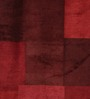 HDP Red Wool 80 x 56 Inch Indian Hand Made Knotted Carpet