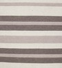 HDP White & Brown Wool 80 x 56 Inch Hand Woven Flat Weave Area Rug