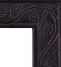 Heera Hastkala Black MDF Framed Decorative Mirror