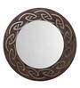 Height of Designs Brown Engineered Wood Tribal Mirror