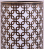 Height of Designs Gold and Black Iron Squares In Squares Table Lamp