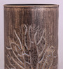 Height Of Designs Gold and Black Iron Tree Table Lamp