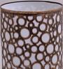 Height of Designs Gold Iron Circles Pattern Night Light