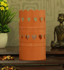 Height of Designs Orange Iron Heart Table Lamp