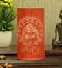 Height Of Designs Orange Iron Holy Budha Table Lamp