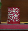 Height of Designs Pink & White Iron Circles Pattern Night Light