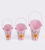 Height of Designs Pink Iron Planter - Set of 3