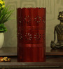 Height of Designs Red Iron Tulip Table Lamp