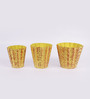 Height of Designs Yellow Iron Abstract Bucket