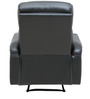 Hero One Seater Recliner Sofa in Black Colour by Star India