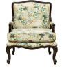 Lorraine Arm Chair in Chintz Print by Amberville