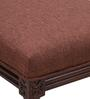 Sanford Bench in Brown Colour by Amberville