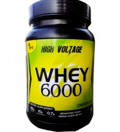 High Voltage Whey 6000 Chocolate Flavor 1kg
