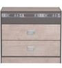 McBlake Chest of Drawer in Grey Finish by Mollycoddle