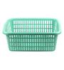 Hindz Plast Green Plastic Laundry Basket
