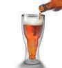 Hit Play Hopside Down Beer Glass