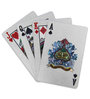 Hit Play Silver Plated Playing Cards